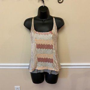 NWT-Anthropologie Sequin Tank